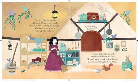 Peep inside a fairy tale: Snow White and the Seven Dwarfs [2]
