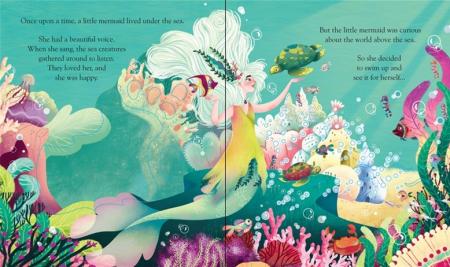 Peep inside a fairy tale: The Little Mermaid [1]