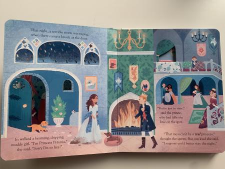 Peep inside a fairy tale: The Princess and the Pea [3]