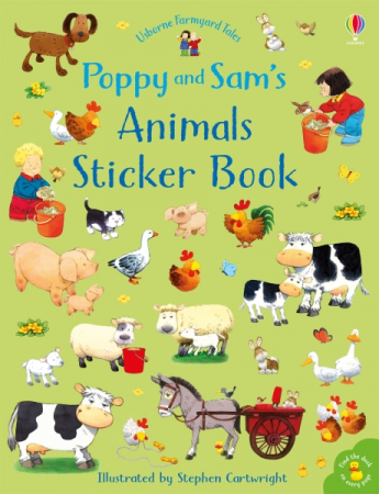 Poppy and Sam's animals sticker book [0]