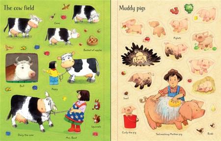 Poppy and Sam's animals sticker book [3]