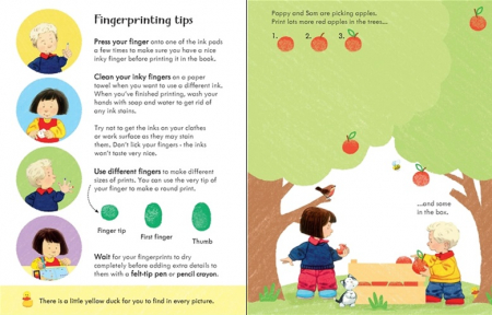 Poppy and Sam's fingerprint activities [1]