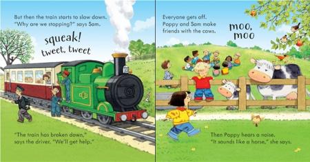 Poppy and Sam's noisy train [3]