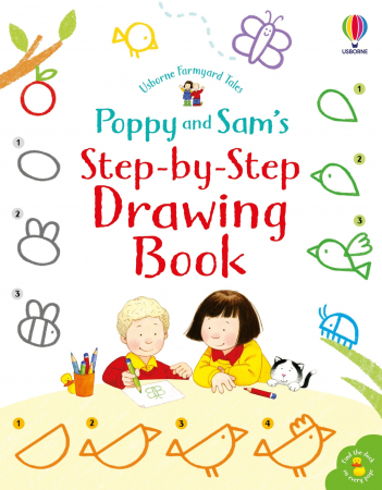 Poppy & Sam's Step-By-Step Drawing Book [0]