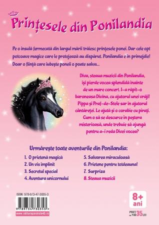 Prinţesele din Ponilandia 8. Steaua muzicii [1]