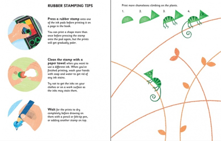 Rubber stamp activities animals [1]