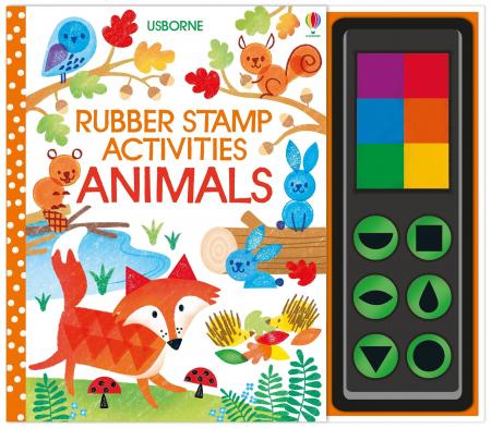 Rubber stamp activities animals [0]