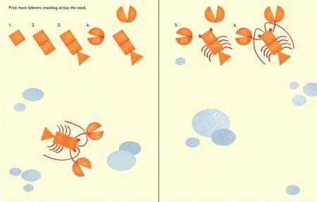 Rubber stamp activities animals [3]