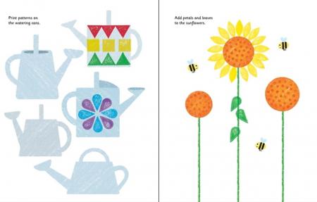 Rubber stamp activities garden [3]