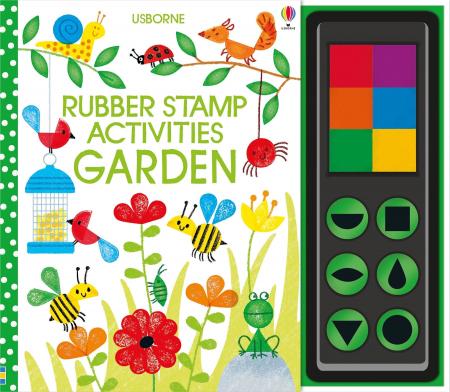 Rubber stamp activities garden [0]