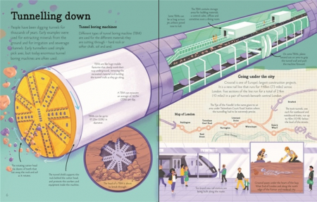 See inside bridges, towers and tunnels [3]