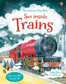 See inside trains [0]