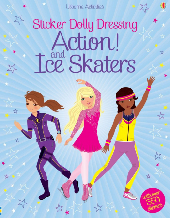 Sticker dolly dressing Action! and Ice Skaters [1]