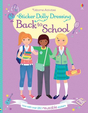 Sticker dolly dressing Back to school [0]