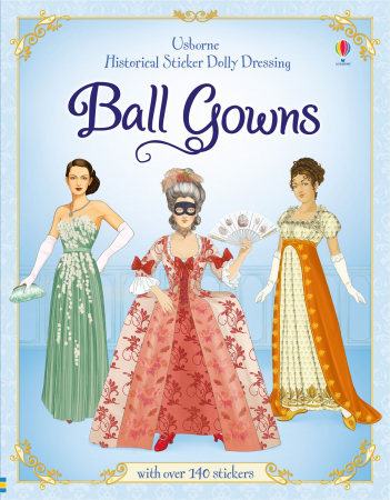 Sticker dolly dressing Ball gowns [0]