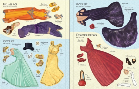 Sticker dolly dressing Ball gowns [2]