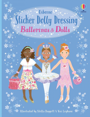 Sticker dolly dressing Ballerinas and dolls [0]