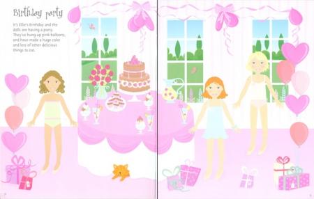 Sticker dolly dressing Ballerinas and dolls [1]
