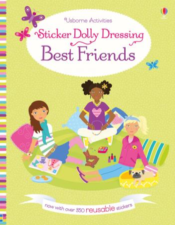 Sticker dolly dressing Best friends [0]