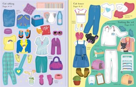 Sticker dolly dressing Cats and kittens [3]