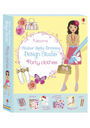 Sticker dolly dressing Design Studio: Party Clothes [0]