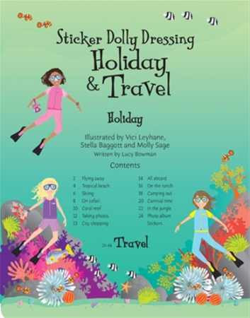 Sticker dolly dressing Holiday and travel [1]