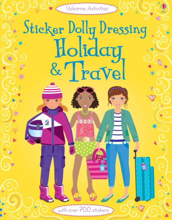 Sticker dolly dressing Holiday and travel [0]