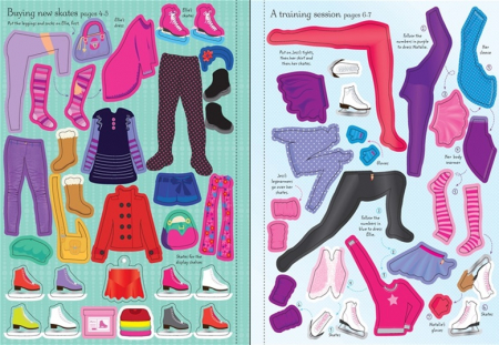 Sticker dolly dressing Ice skaters [3]