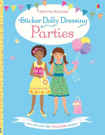 Sticker dolly dressing Parties [0]