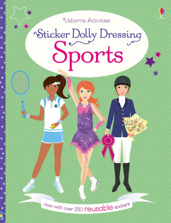 Sticker dolly dressing Sports [1]