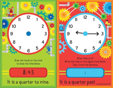 Telling the time flash cards [2]
