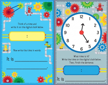 Telling the time flash cards [3]