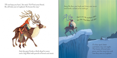 The Snow Queen picture book and jigsaw [2]