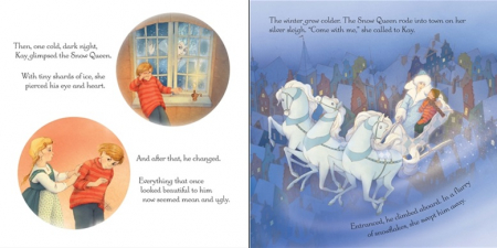 The Snow Queen picture book and jigsaw [1]