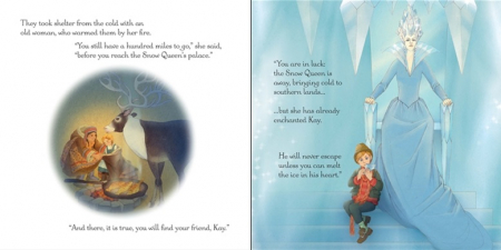 The Snow Queen picture book and jigsaw [3]