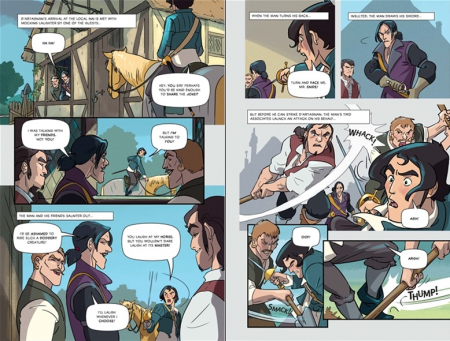 The Three Musketeers graphic novel [4]