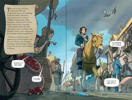 The Three Musketeers graphic novel [3]