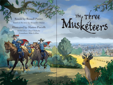 The Three Musketeers graphic novel [1]