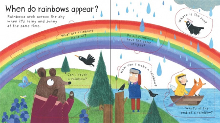 What makes it rain? [2]