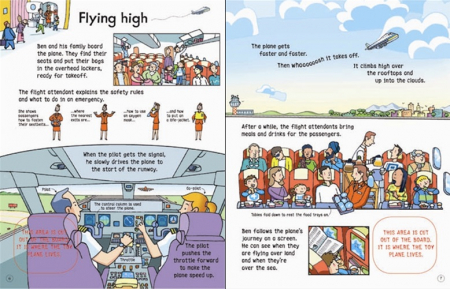 Wind-up plane book [2]