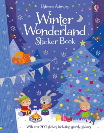 Winter wonderland sticker book [0]