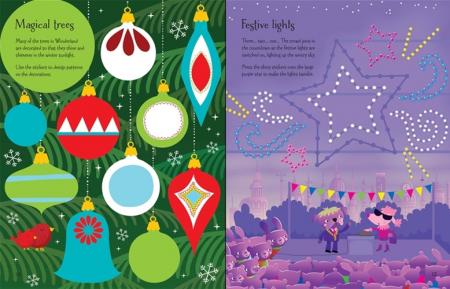 Winter wonderland sticker book [2]