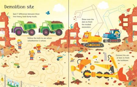Wipe-clean building site activities [2]