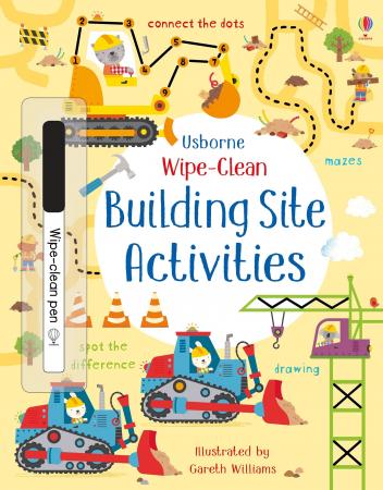 Wipe-clean building site activities [0]