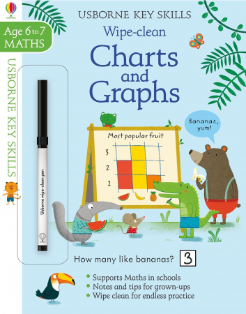 Wipe-clean charts and graphs 6-7 [4]