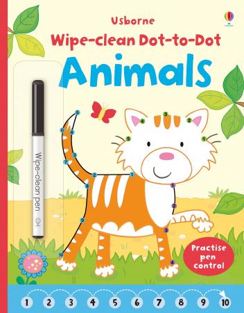 Wipe-clean dot-to-dot animals [0]