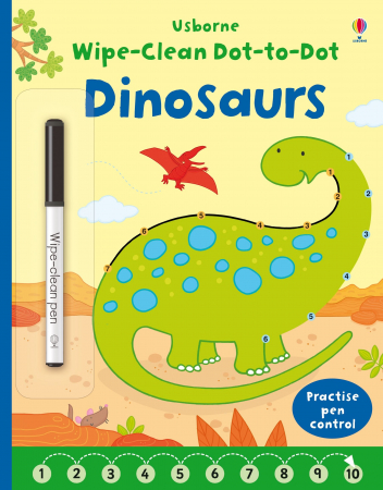 Wipe-clean dot-to-dot dinosaurs [0]