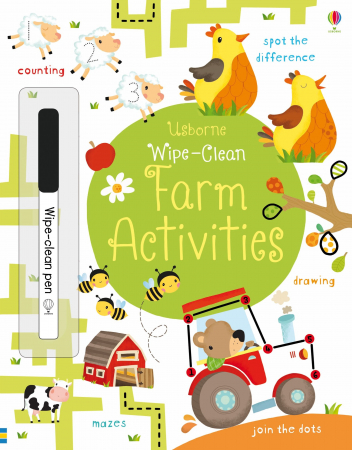 Wipe-clean farm activities [0]