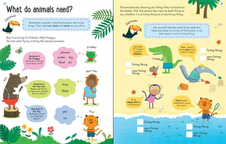 Wipe-Clean Finding Out About Animals 6-7 [1]