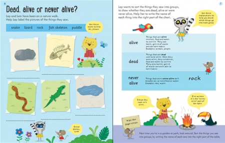 Wipe-Clean Finding Out About Animals 6-7 [2]